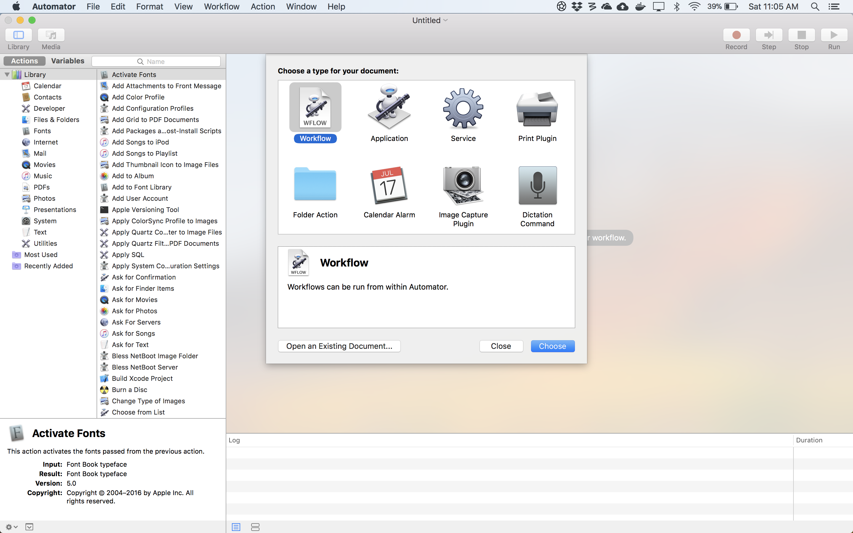 Automating My Apps With OSX Automator – Nate Taylor
